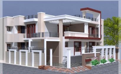 India house design .