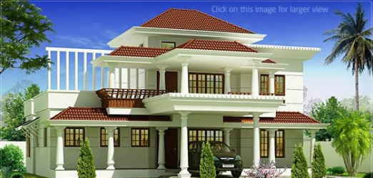 New Beautiful traditional mix villa design in 1700 sq.feet